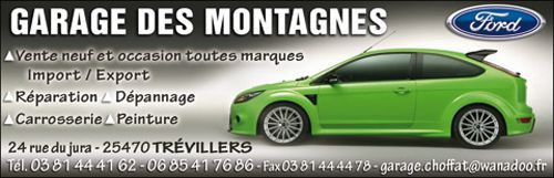 Tr villers 25470 canton de ma che le doubs la route for Garage des communes acheres