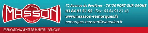 MASSON - Remorques