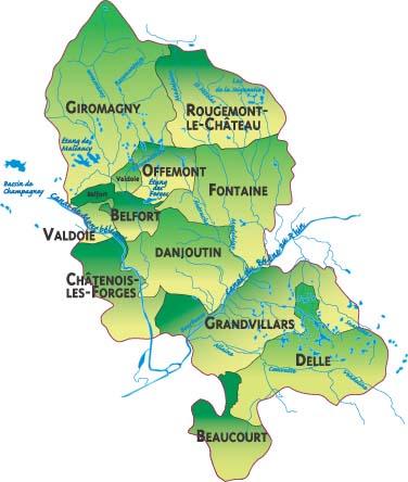 Territoire de belfort la route des communes for Porte de garage territoire de belfort